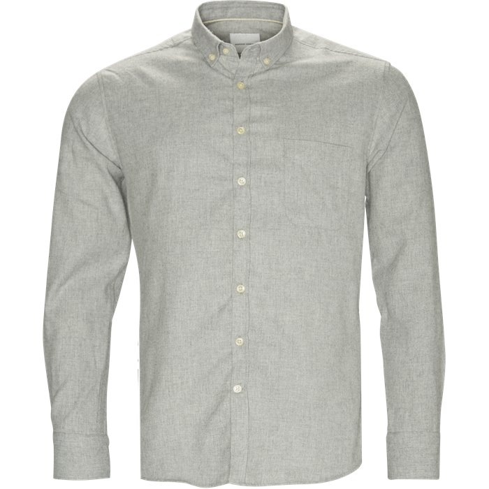 Skjortor - Regular - Grå